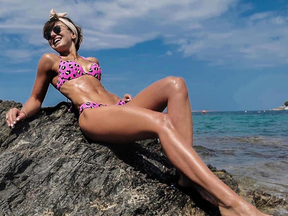 Anna Lewandowska bikini
