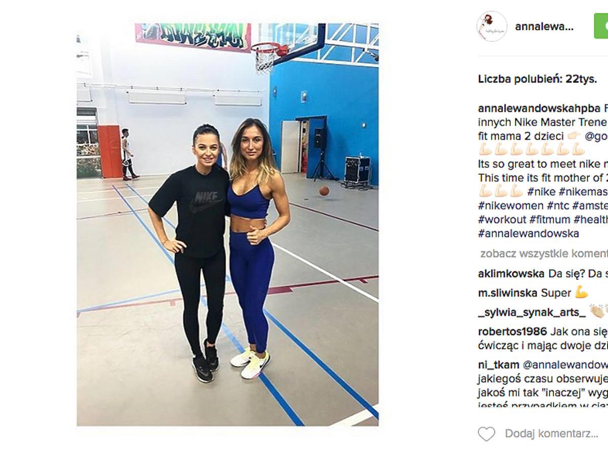 Anna Lewandowska chodziła ostatnio w luźnych ubraniach! Chciała ukryć ciążę?