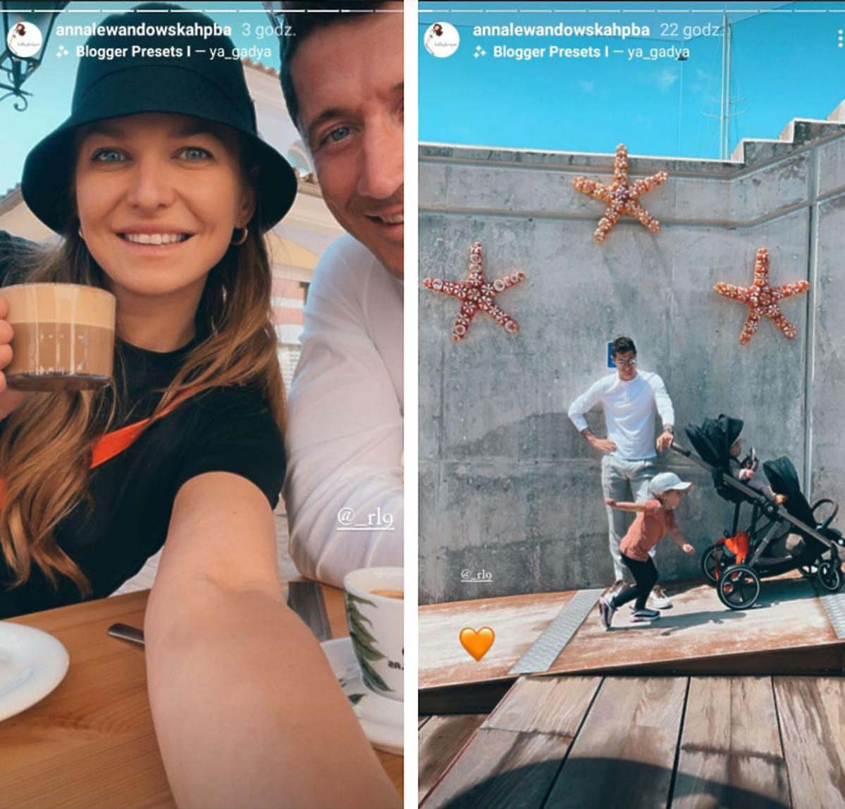 Anna Lewandowska chwali się rodzinną majówką w Hiszpanii, ale wszyscy patrzą tylko na Laurę: