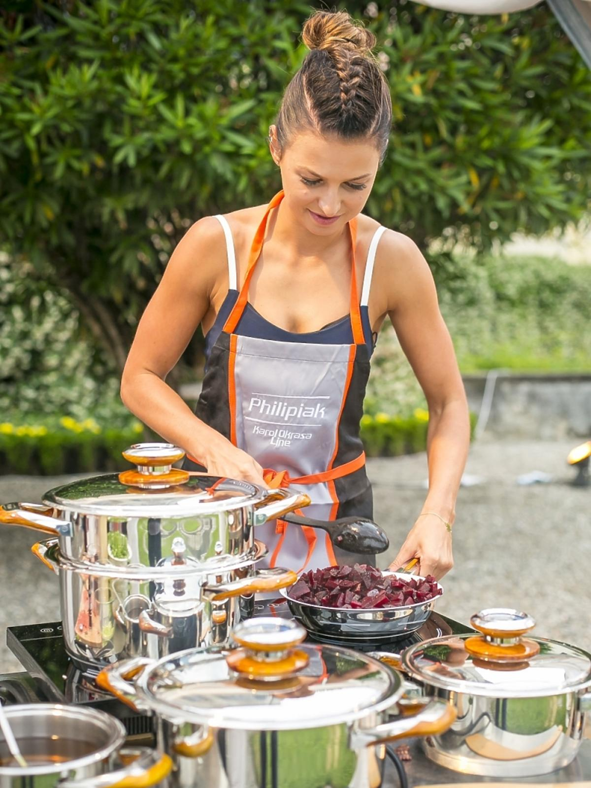 Anna Lewandowska gotuje