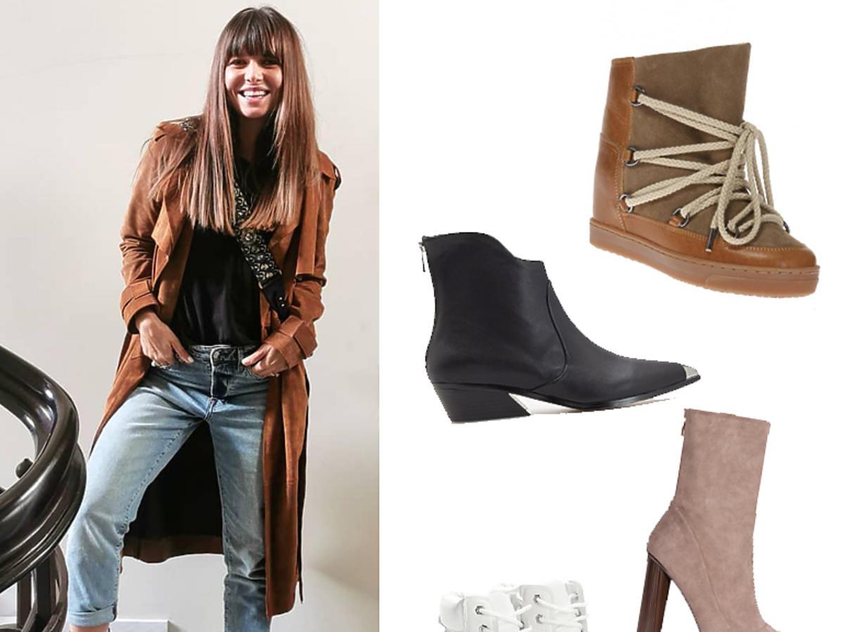 Anna Lewandowska i 4 pary butów na zimę