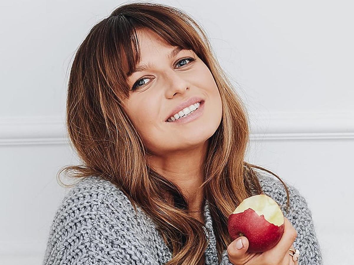 Anna Lewandowska je jabłko
