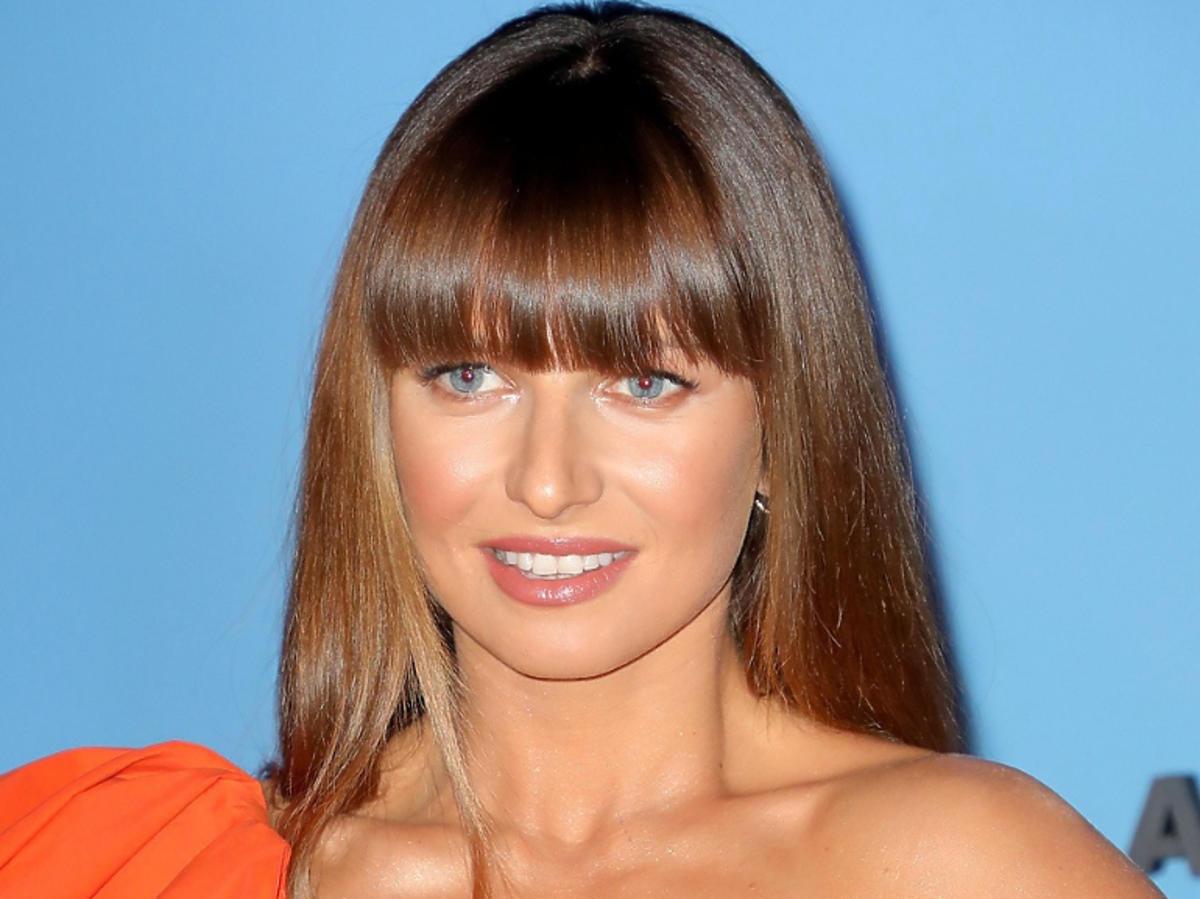 Anna Lewandowska na Balu TVN fryzura