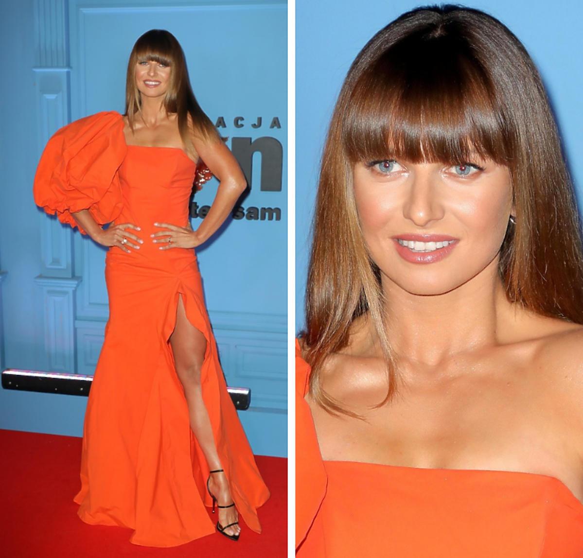 Anna Lewandowska na Balu TVN suknia