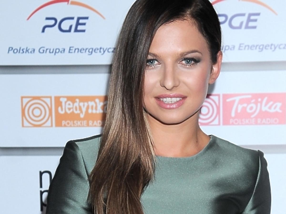 Anna Lewandowska na Gali Mistrzów Sportu 2015
