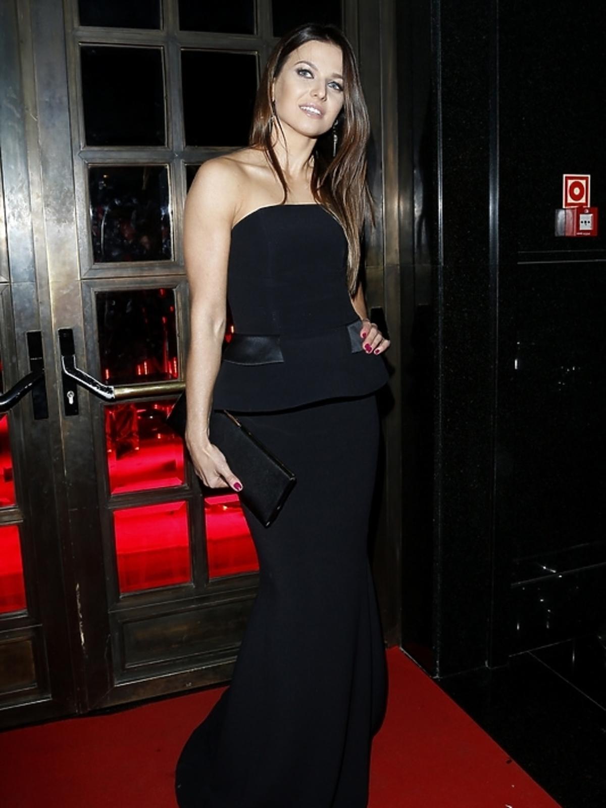 Anna Lewandowska na imprezie Róże Gali 2013