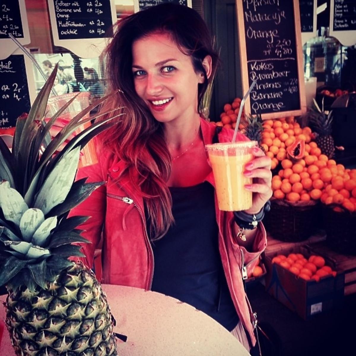 Anna Lewandowska na Instagramie