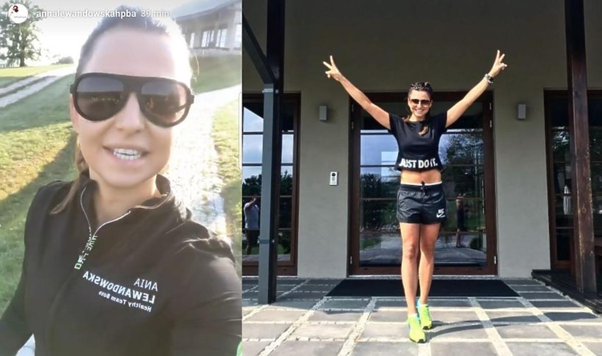 Anna Lewandowska na obozie treningowym w Dojo Stara Wieś