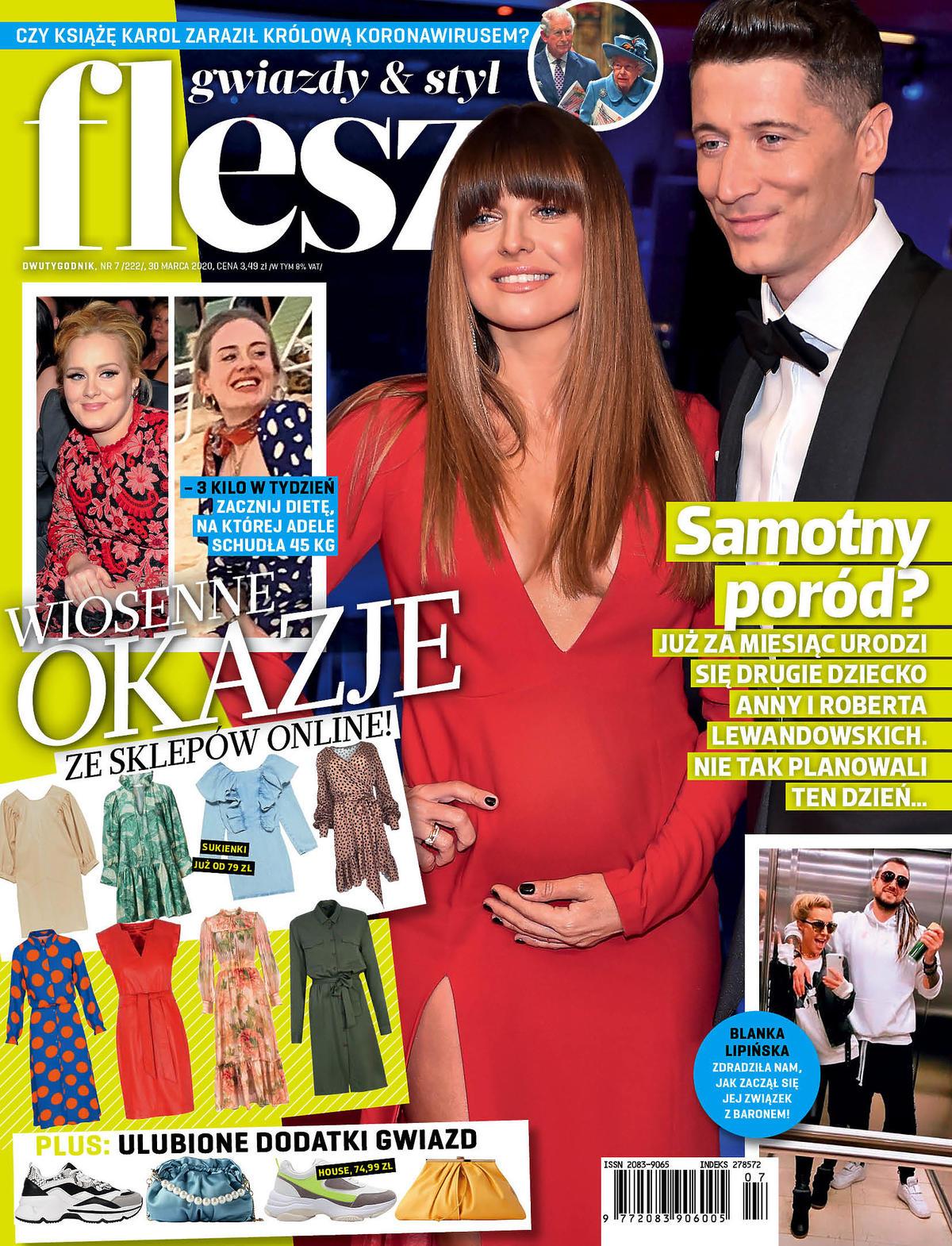 Anna Lewandowska na okładce magazynu