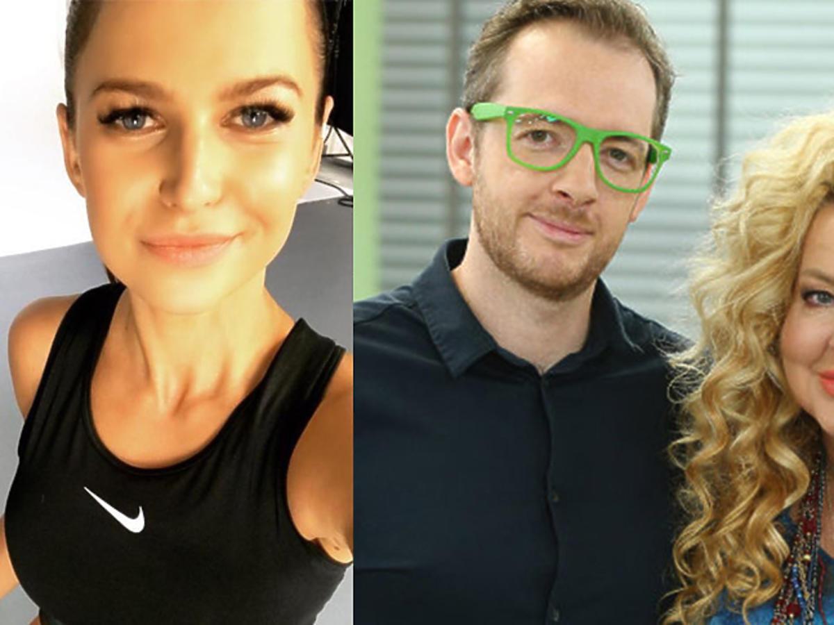 Anna Lewandowska na treningu, Magda Gessler i Tadeusz Muller w Dzień dobry TVN