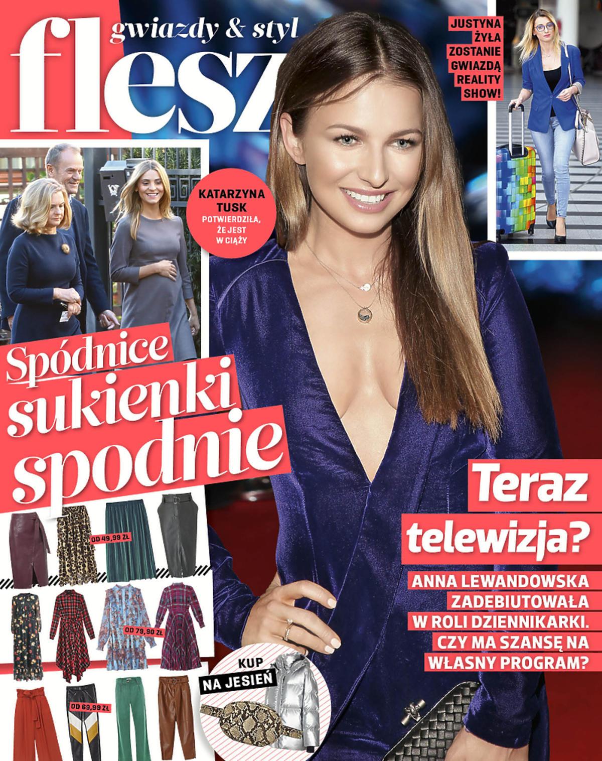 Anna Lewandowska, nowy Flesz