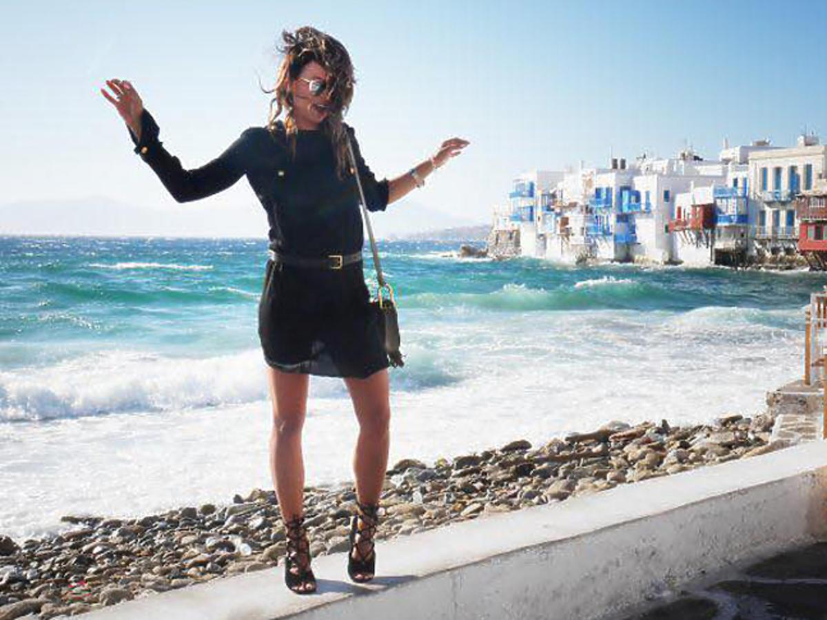 Anna Lewandowska podsumowała wakacje na Mykonos