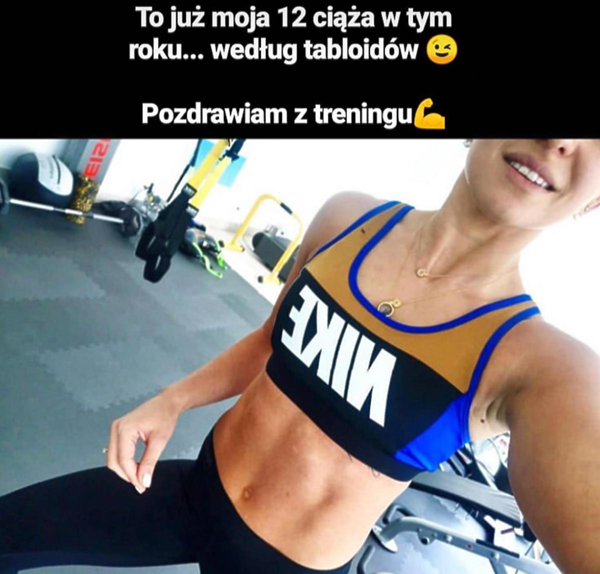 Anna Lewandowska pokazała brzuch i komentuje plotki o ciąży