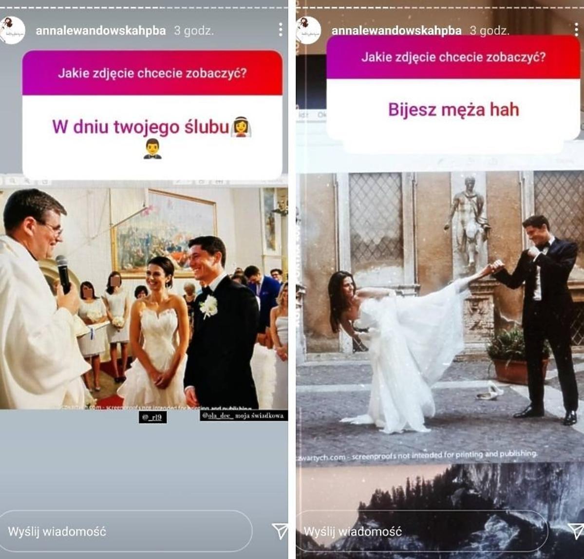 Anna Lewandowska pokazała niepublikowane wcześniej zdjęcia