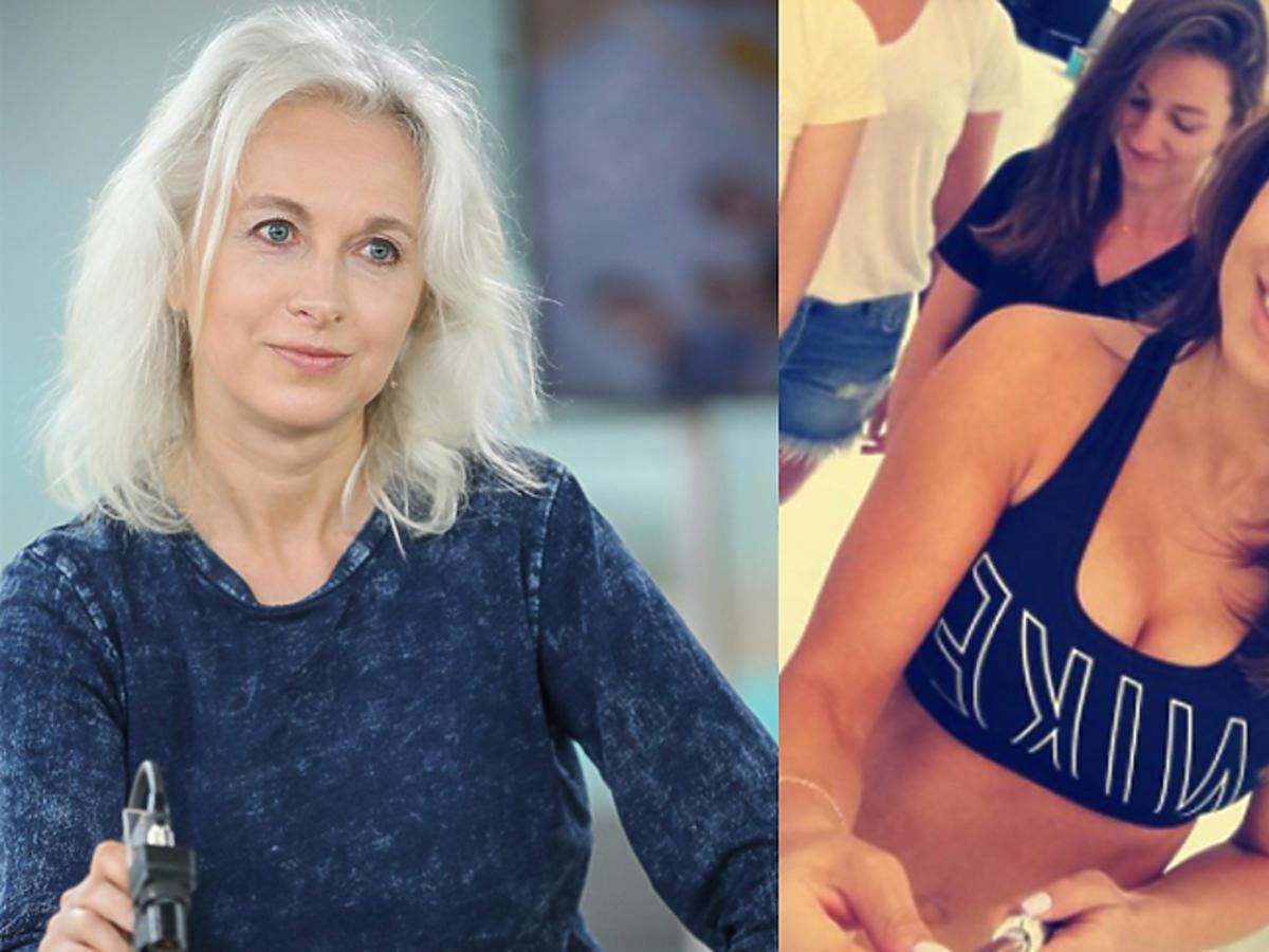 Anna Lewandowska pokazała płaski brzuch miesiąc po porodzie
