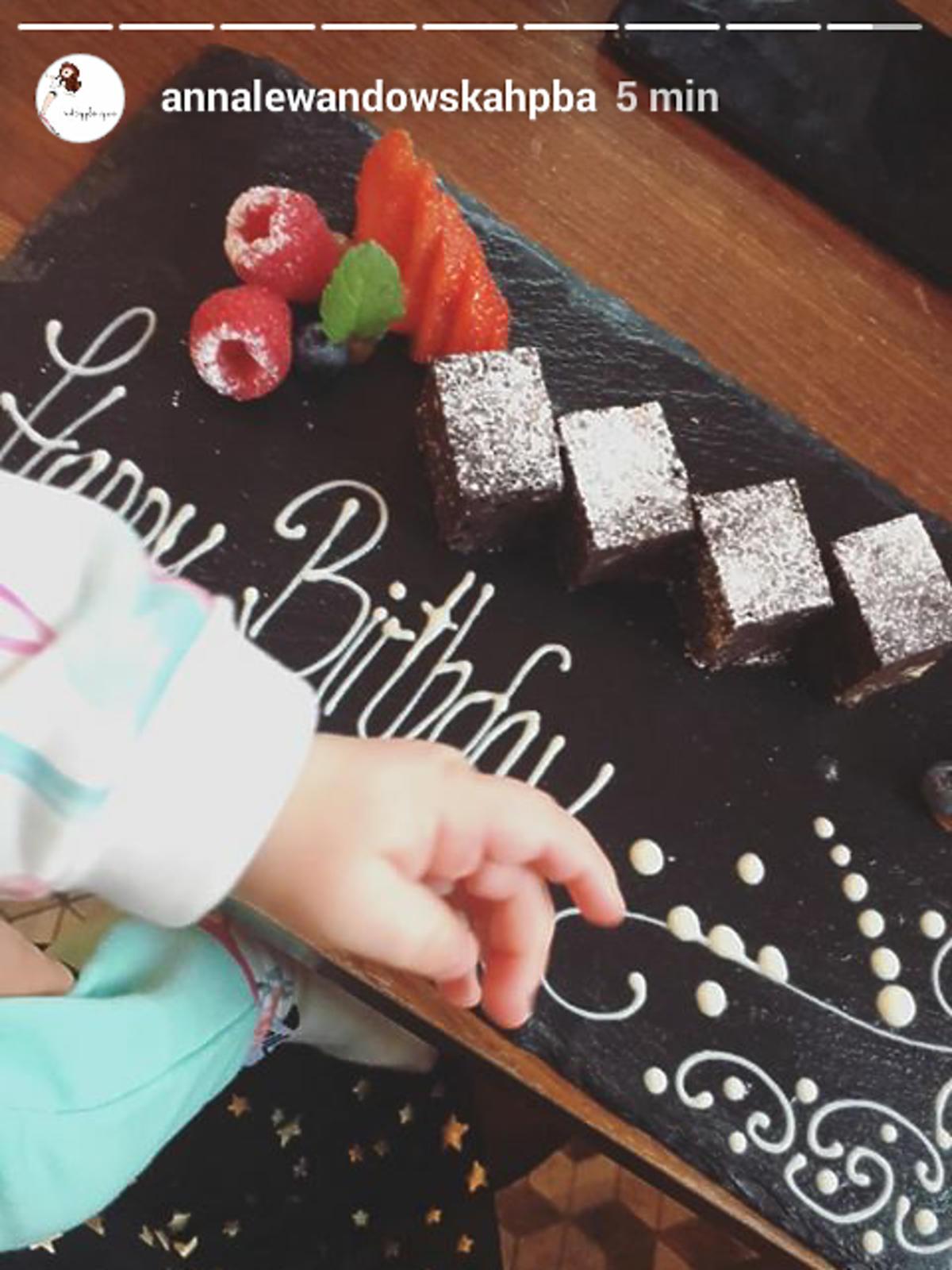 Anna Lewandowska pokazała swój tort urodzinowy