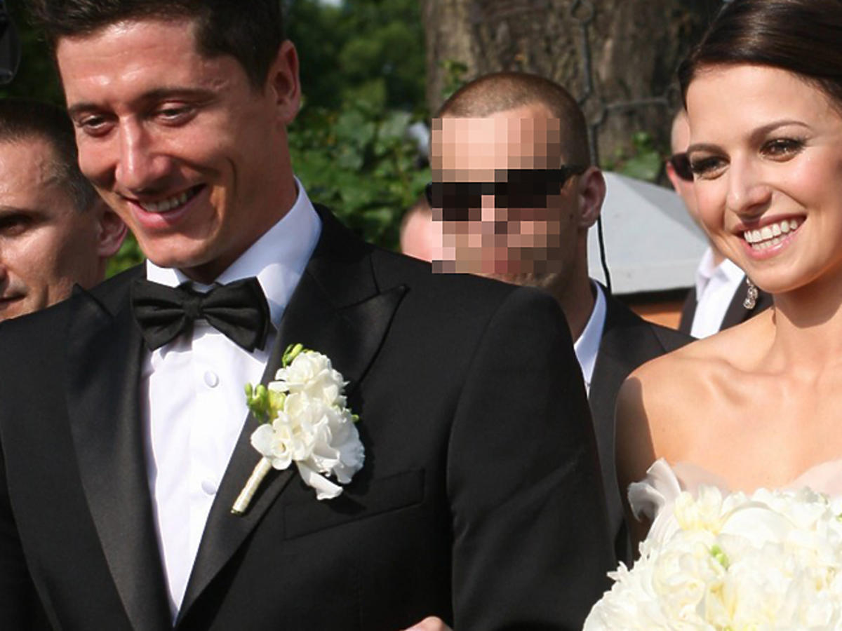 Anna Lewandowska ślub