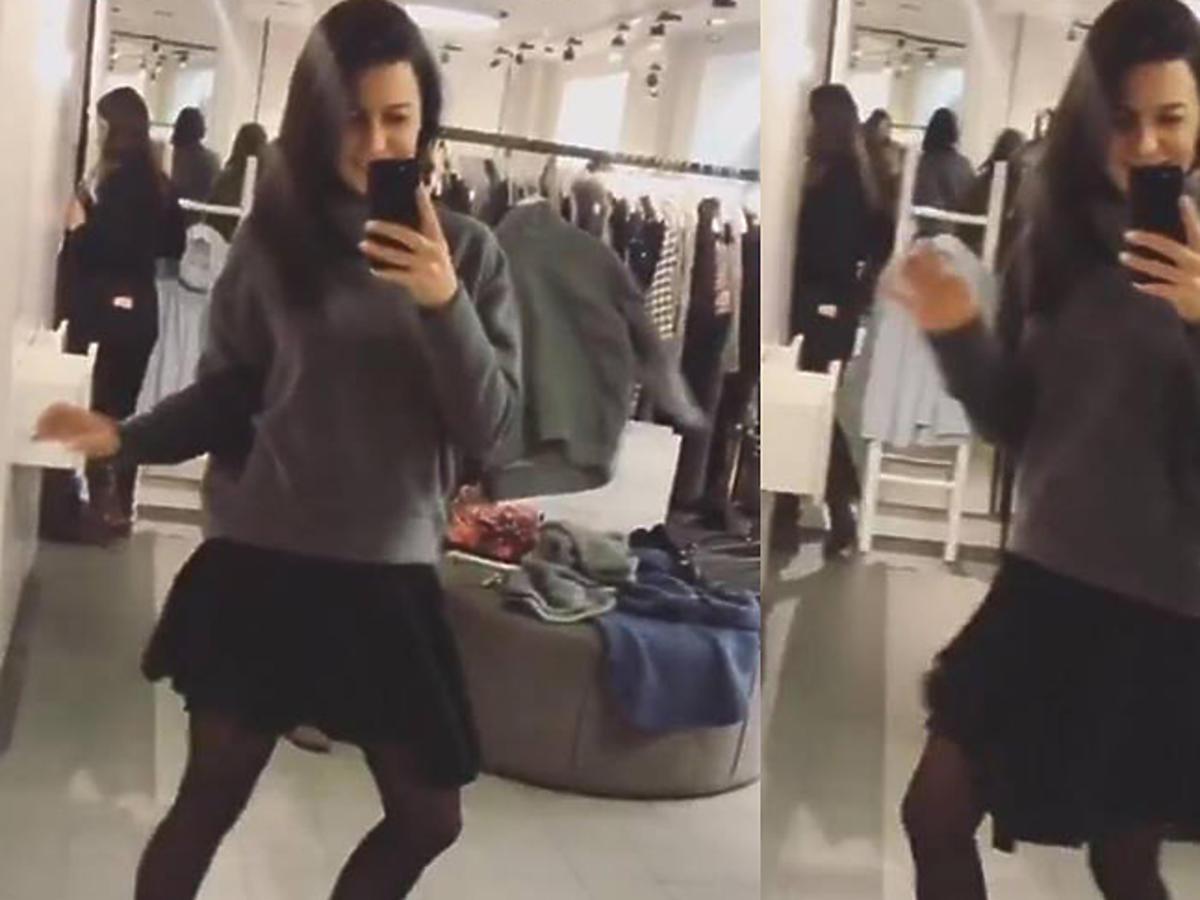 Anna Lewandowska tańczy na Instagramie