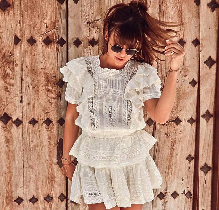 Anna Lewandowska w sukience Love Shack Fancy - to hit lata! | Party.pl