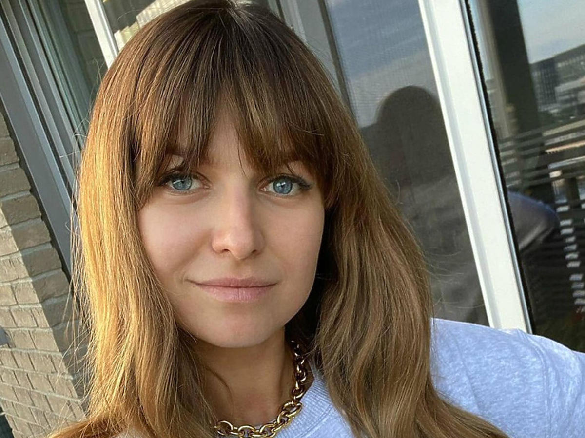 Anna Lewandowska w bluzie