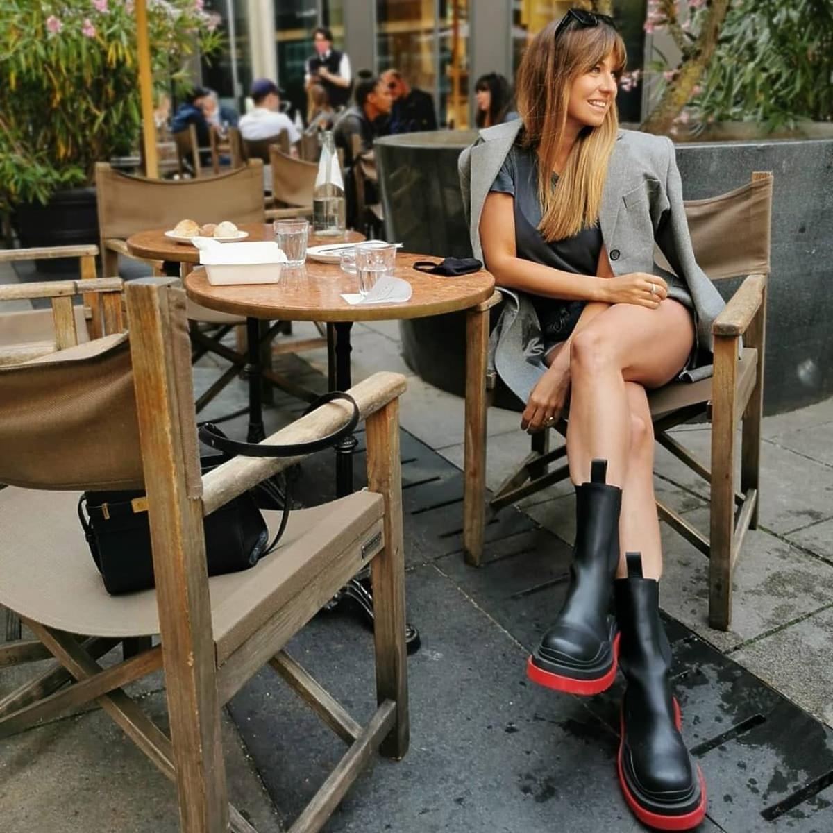 Anna Lewandowska w butach Bottega Veneta za 4 tys