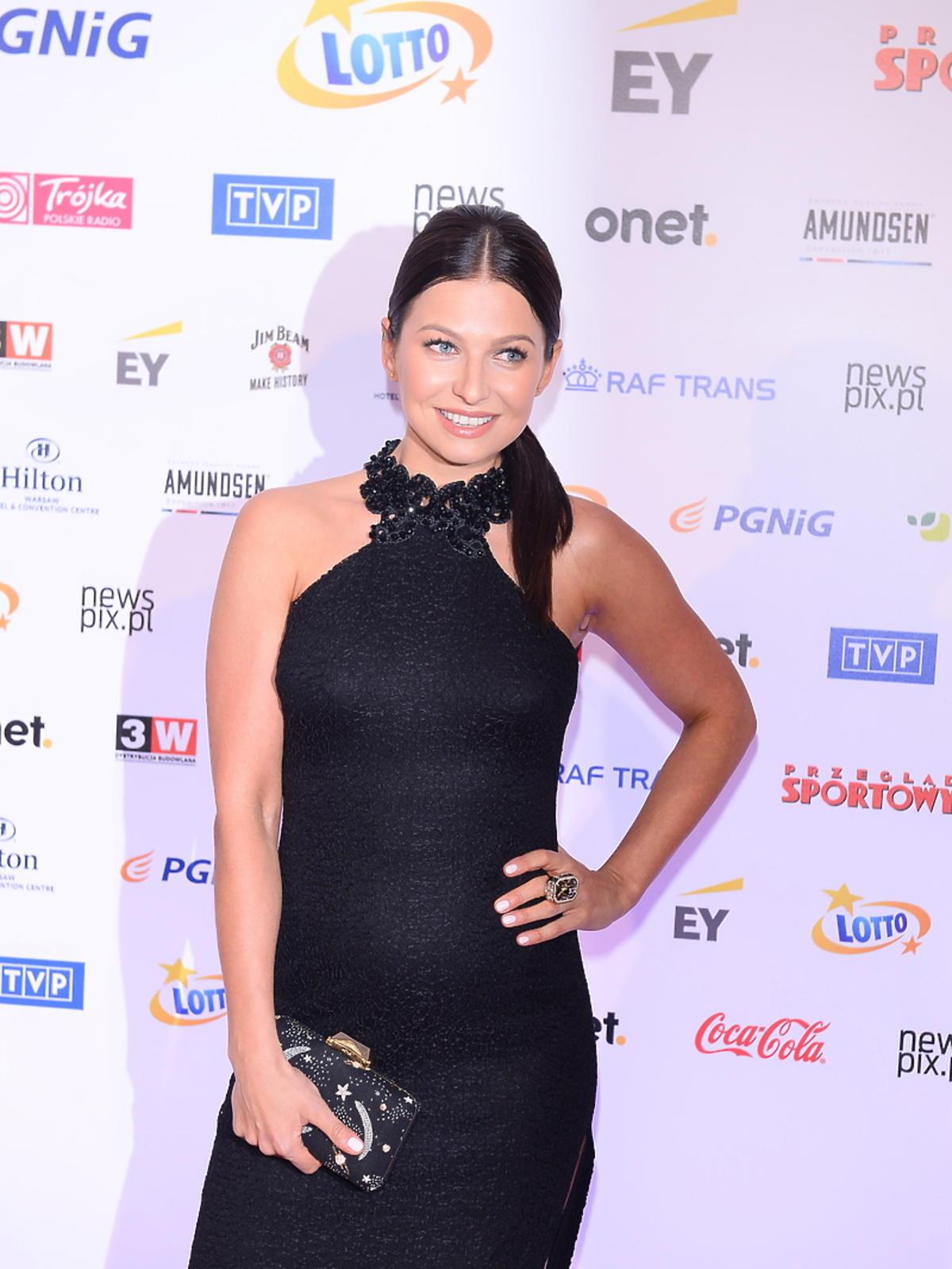 Anna Lewandowska w ciąży na Gali Mistrzów Sportu