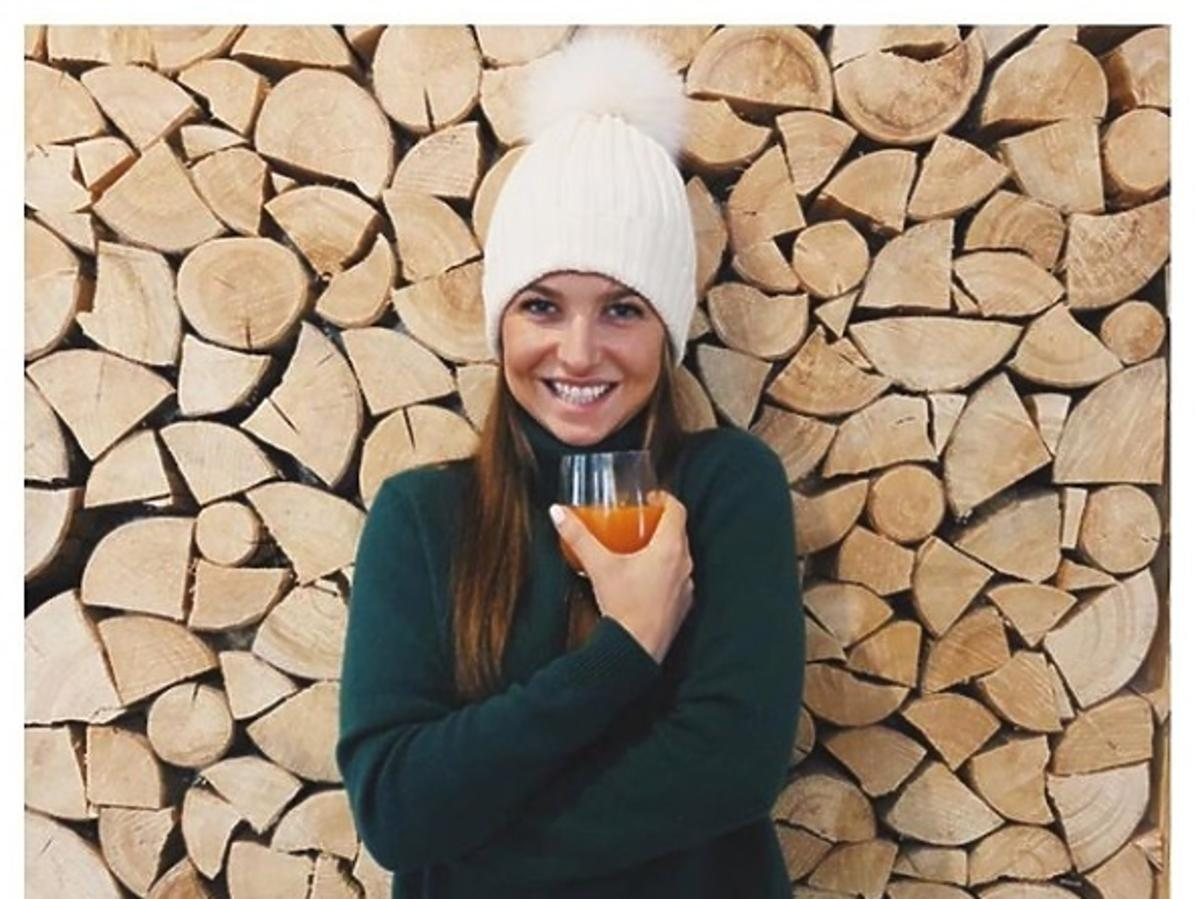 Anna Lewandowska w golfie