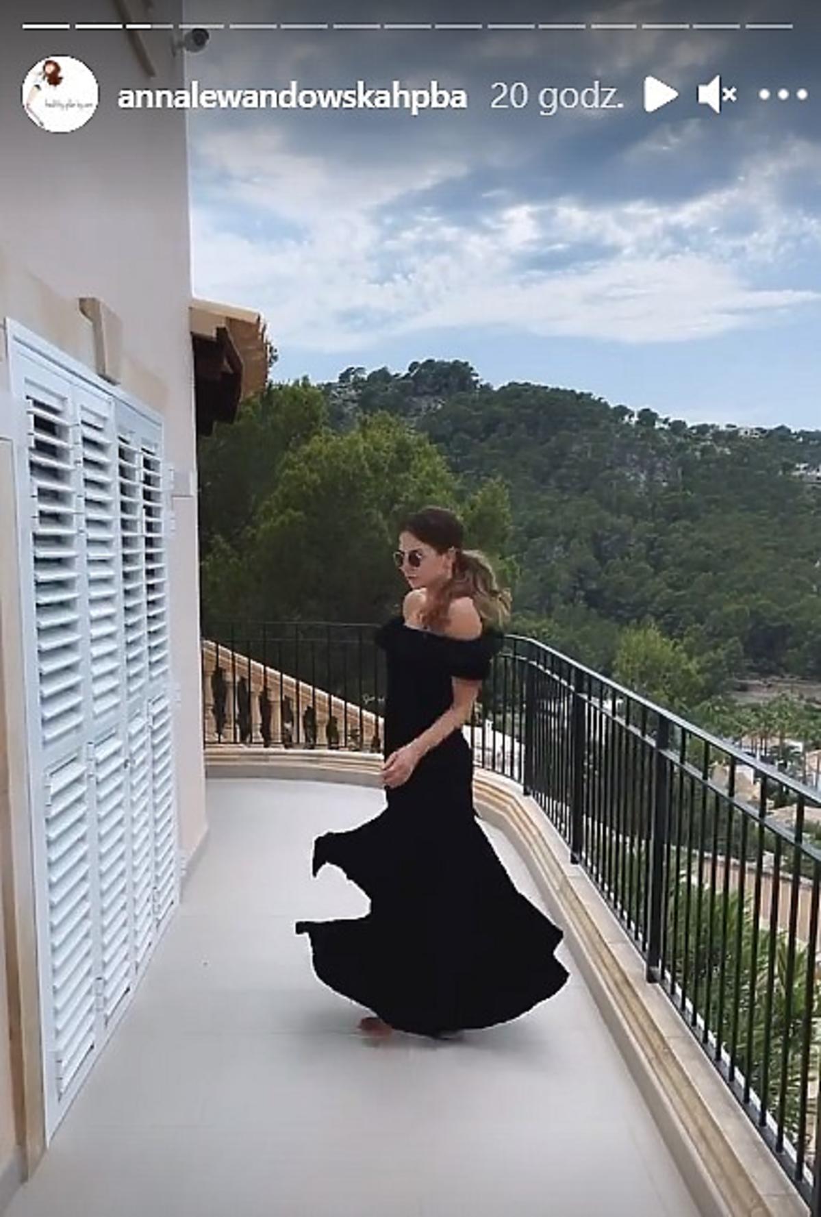 Anna Lewandowska w hitowej sukience na lato