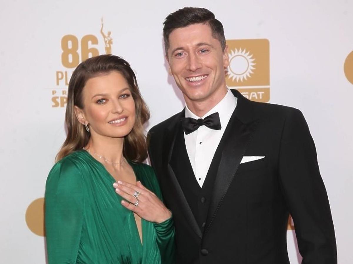 Anna Lewandowska w sukni Dolce&Gabbana na Gali Mistrzów Sportu