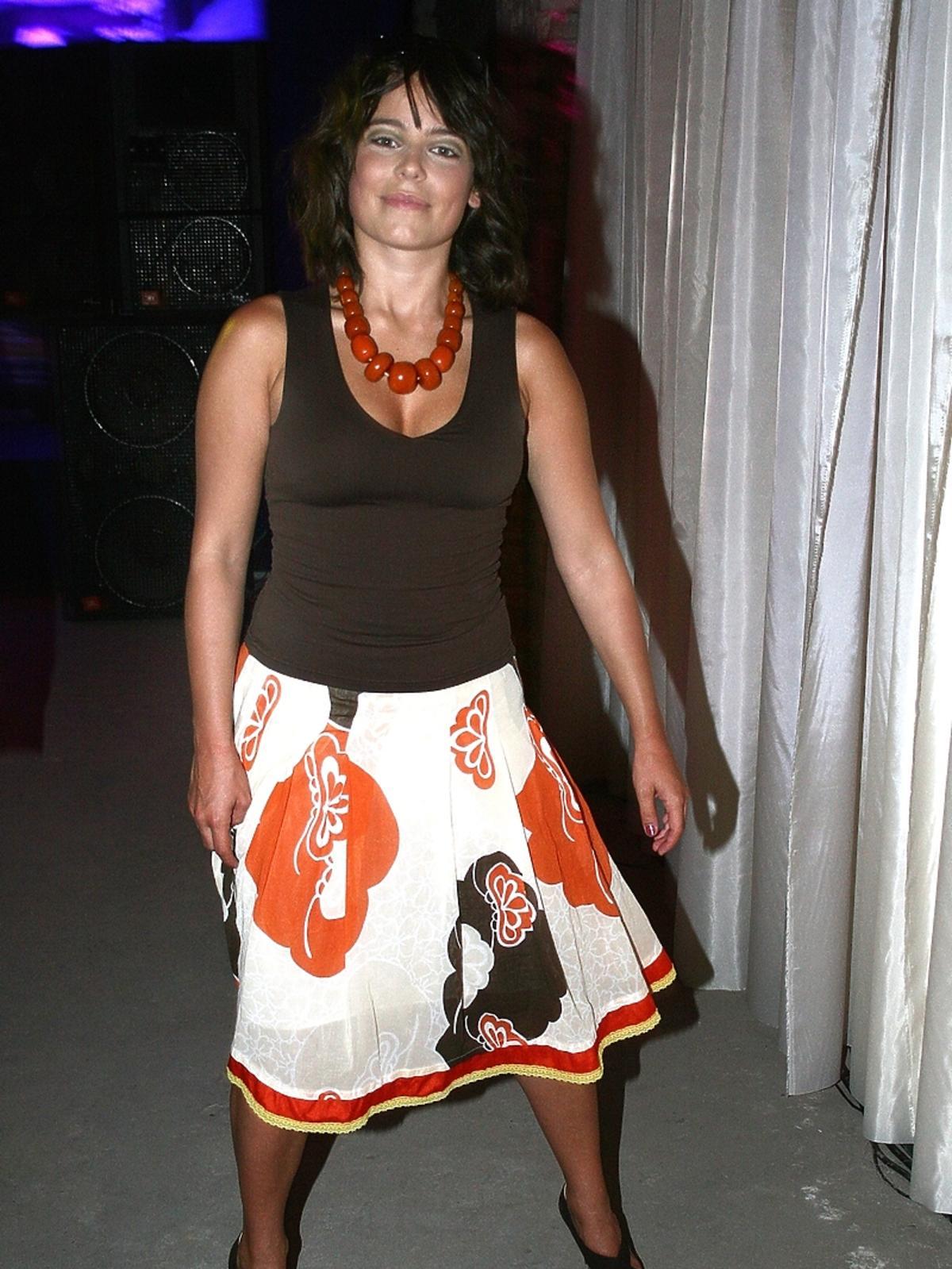 Anna Mucha 10 lat temu