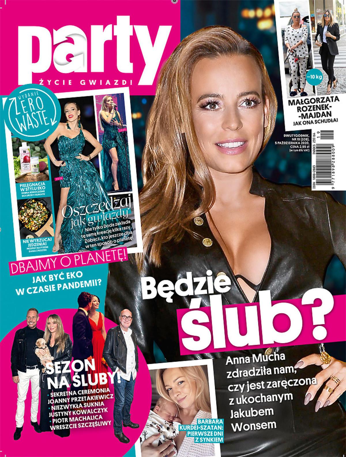 Anna Mucha bierze ślub? Nowa okładka Party