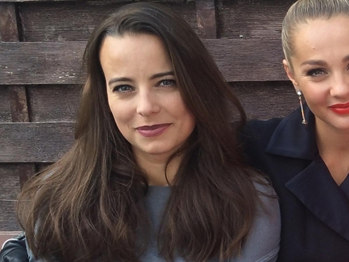 Anna Mucha i Małgorzata Socha na planie filmu Wkręceni 2