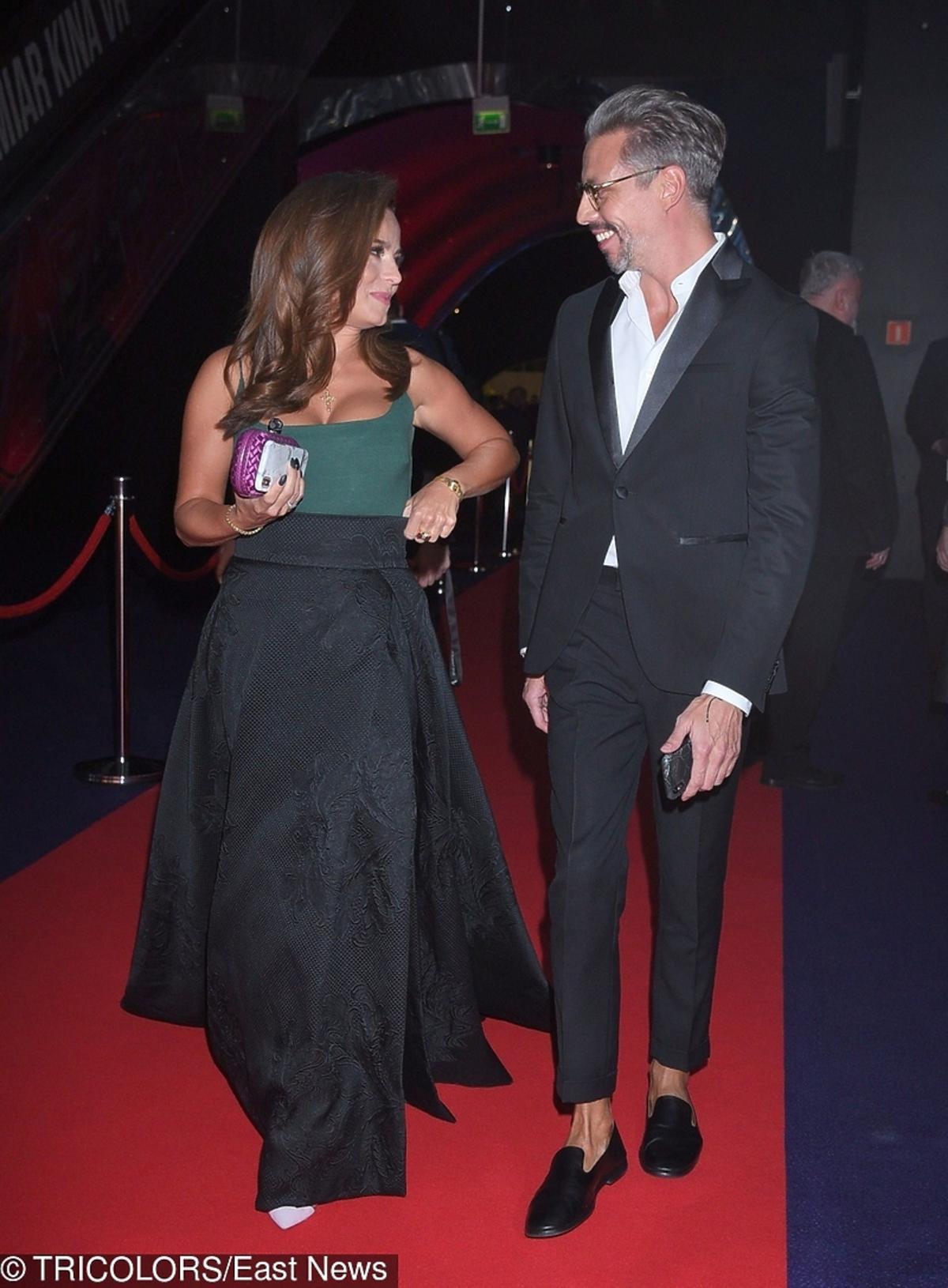 Anna Mucha i Marcel Sora na premierze filmu