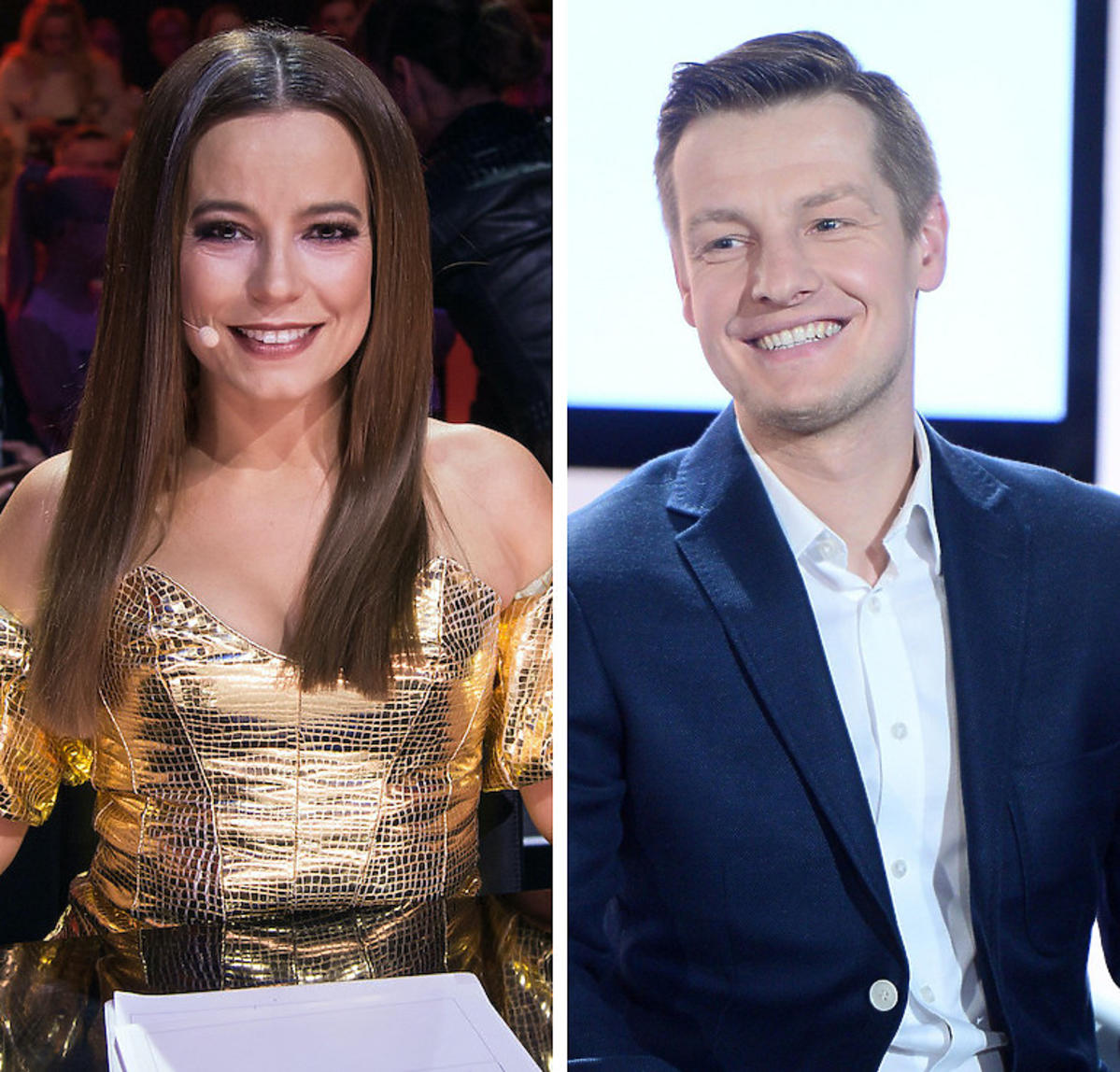 Anna Mucha i Rafał Mroczek