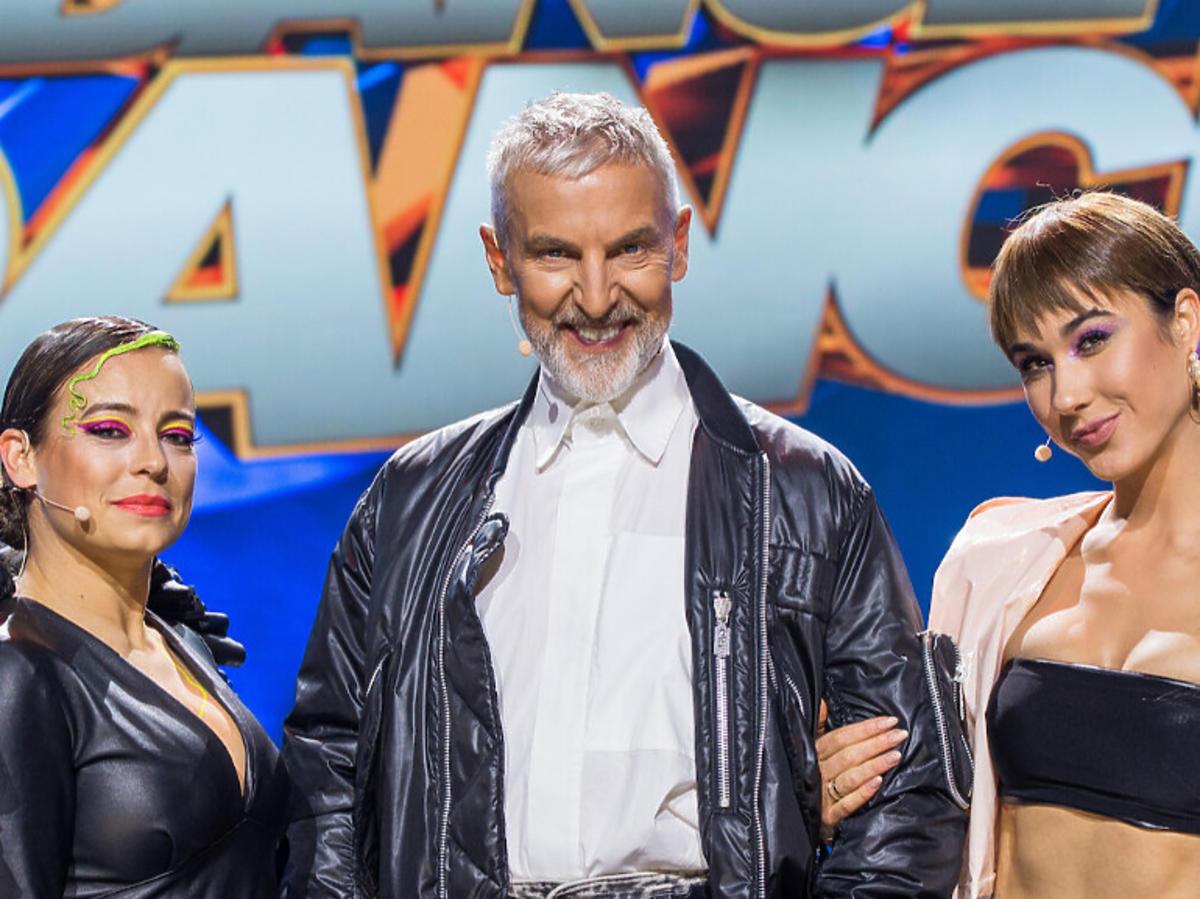 Anna Mucha, Ida Nowakowska, Robert Kupisz na planie Dance Dance Dance