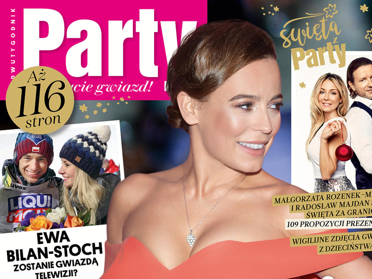 Anna Mucha na okładce Party