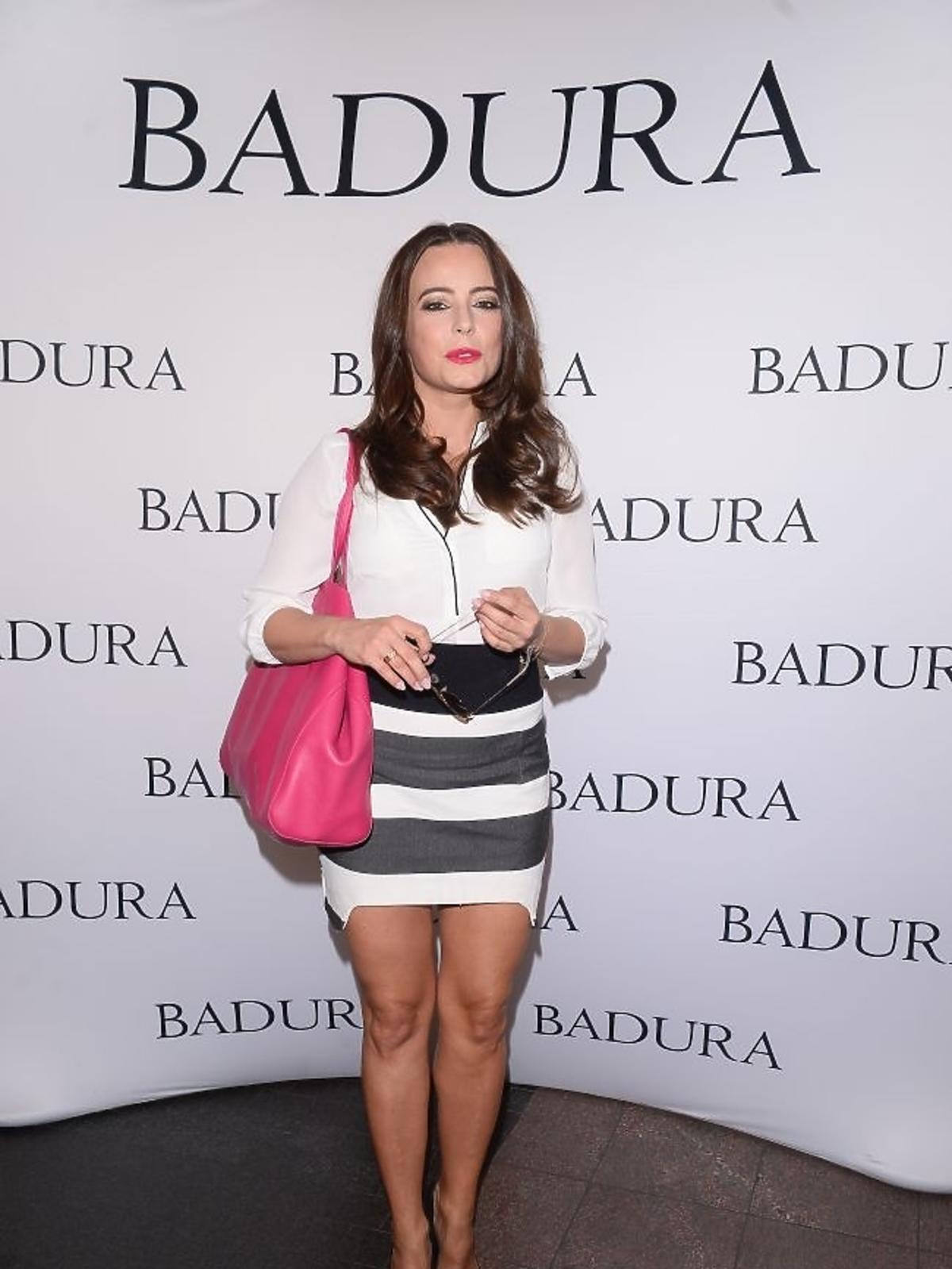 Anna Mucha na prezentacji Badura