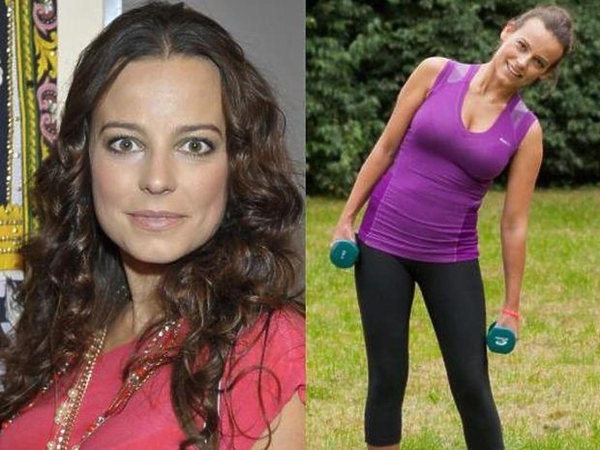Anna Mucha nie przestrzega diety