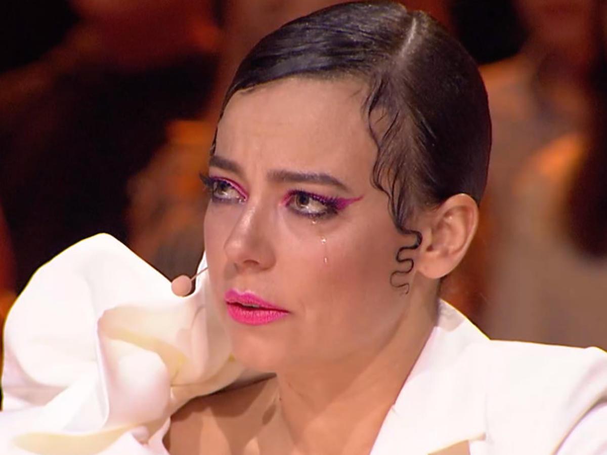Anna Mucha płacze w Dance Dance Dance