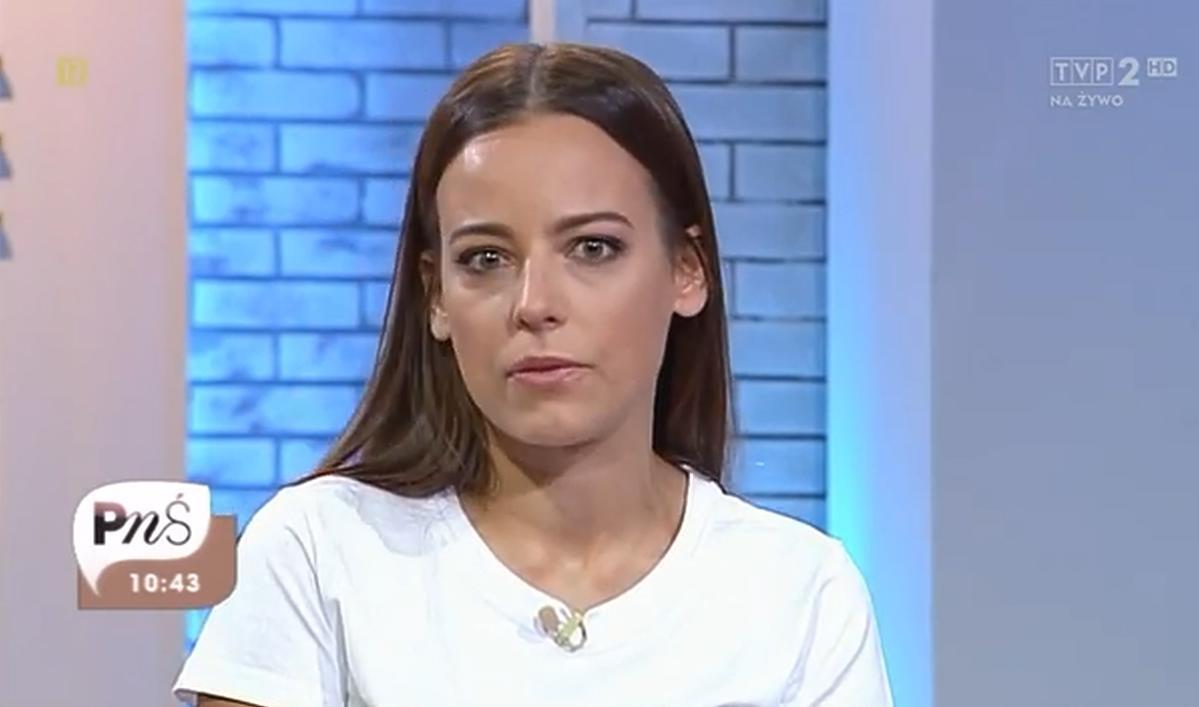 Anna Mucha popłakała się w Pytaniu na Śniadanie
