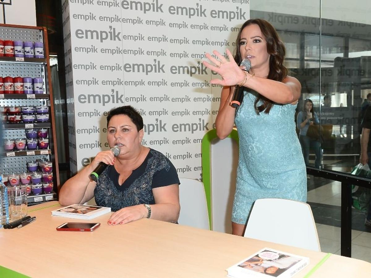 Anna Mucha promuje książkę