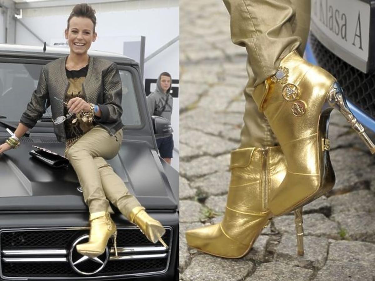 Anna Mucha w butach za 699 złotych Anna Dello Russo dla H&M