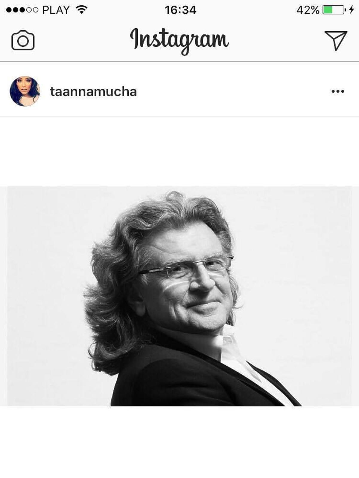 Anna Mucha żegna Zbigniewa Wodeckiego