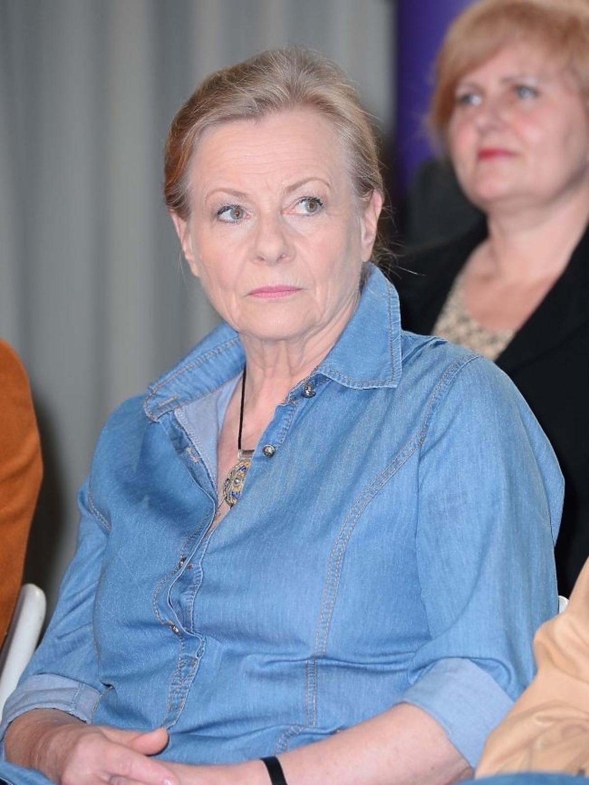 Anna Nehrebecka na 65-leciu pracy zawodowej Teresy Lipowskiej