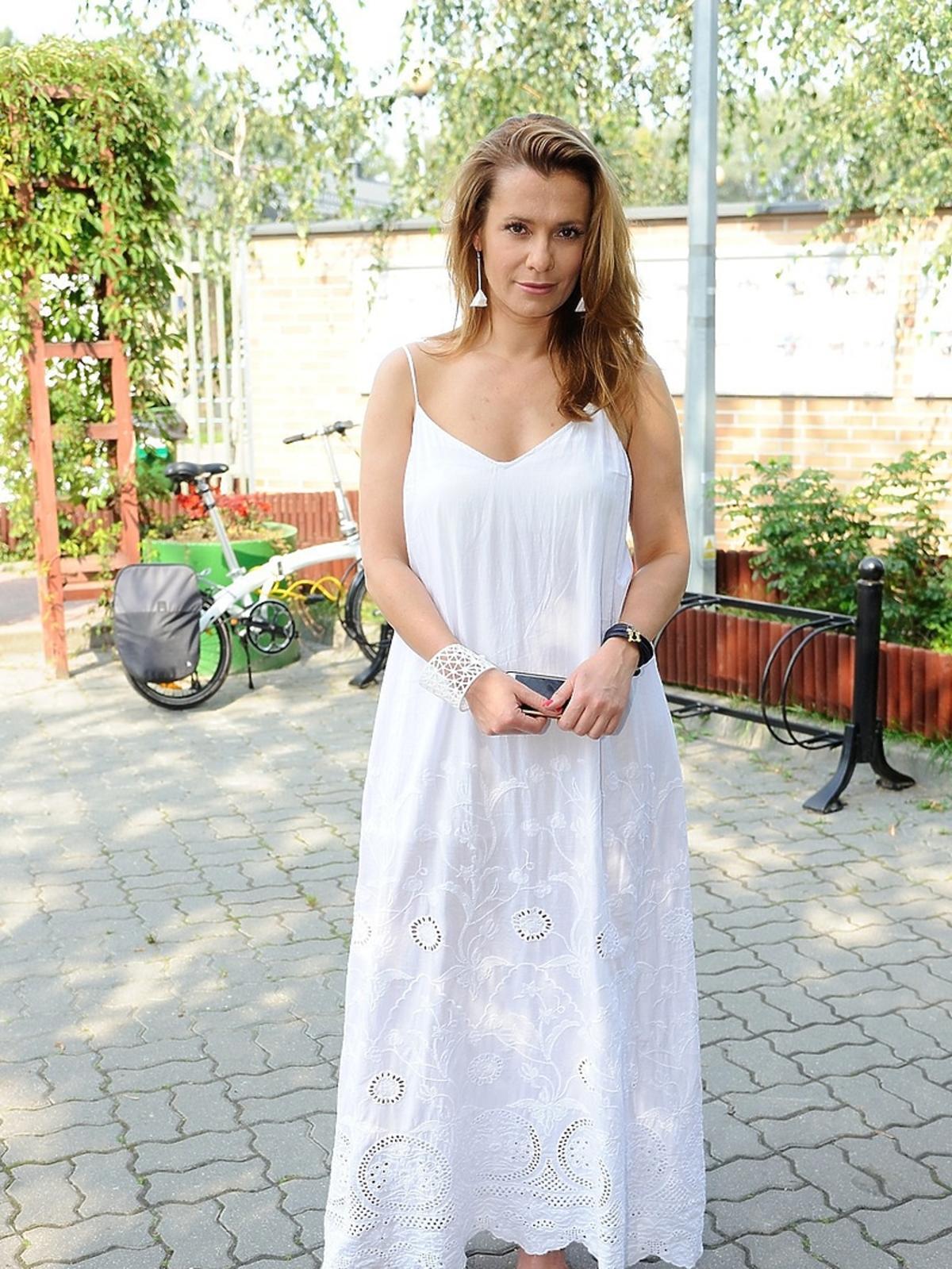 Anna Oberc na akcji charytatywnej