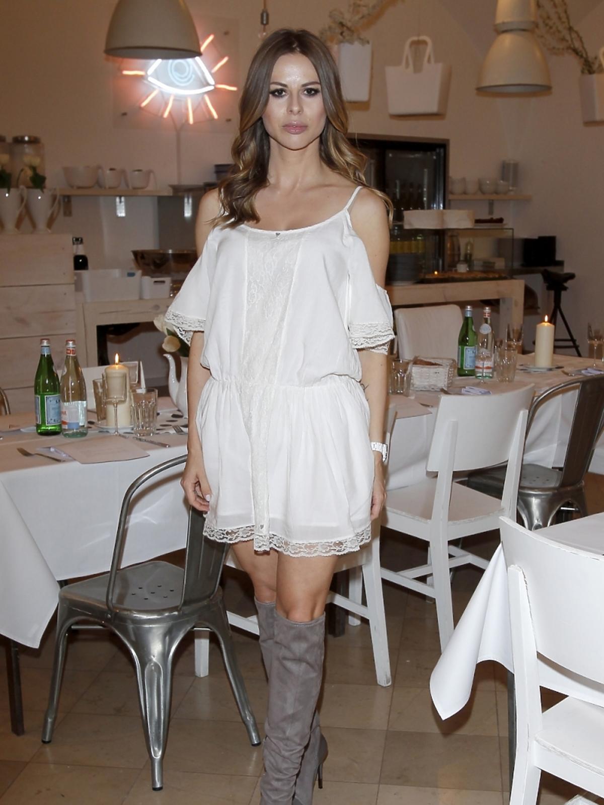 Anna Pawlik na imprezie marki Guess