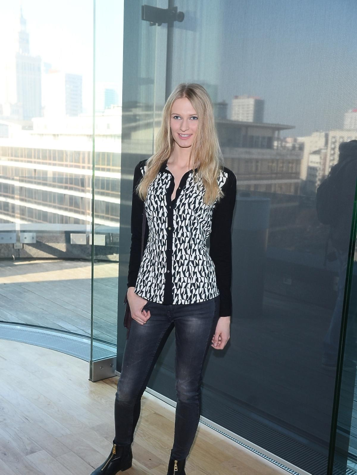 Anna Piszczałka na imprezie marki Kruger&Matz