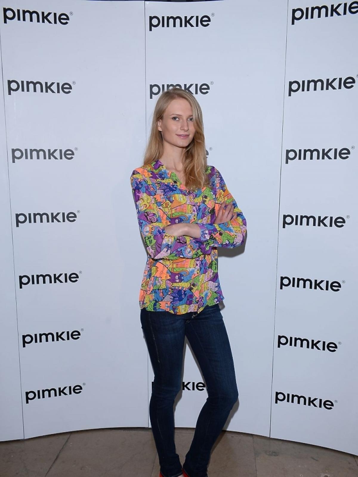 Anna Piszczałka na pokazie Pimkie