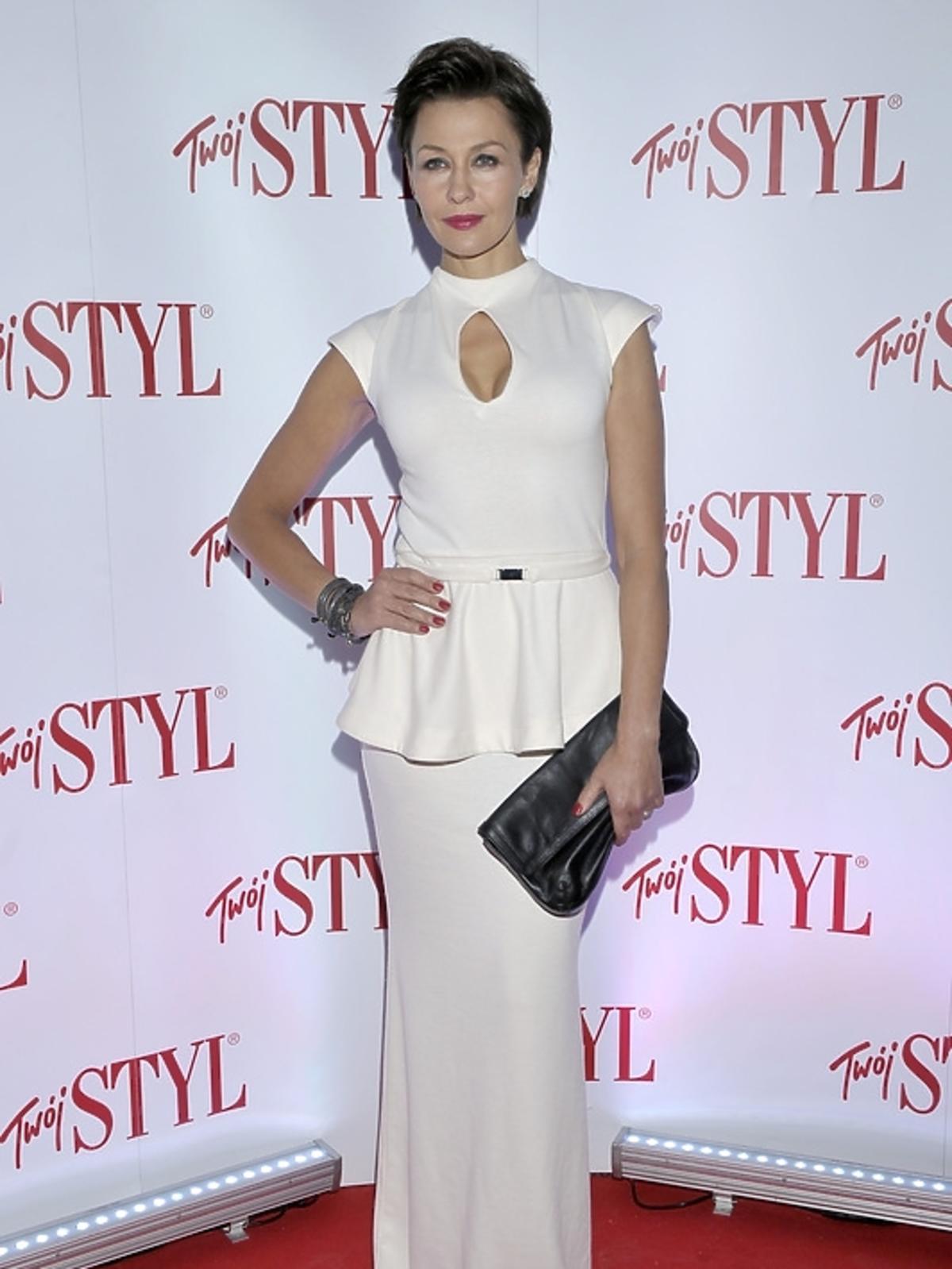 Anna Popek na gali Doskonałość Mody 2012