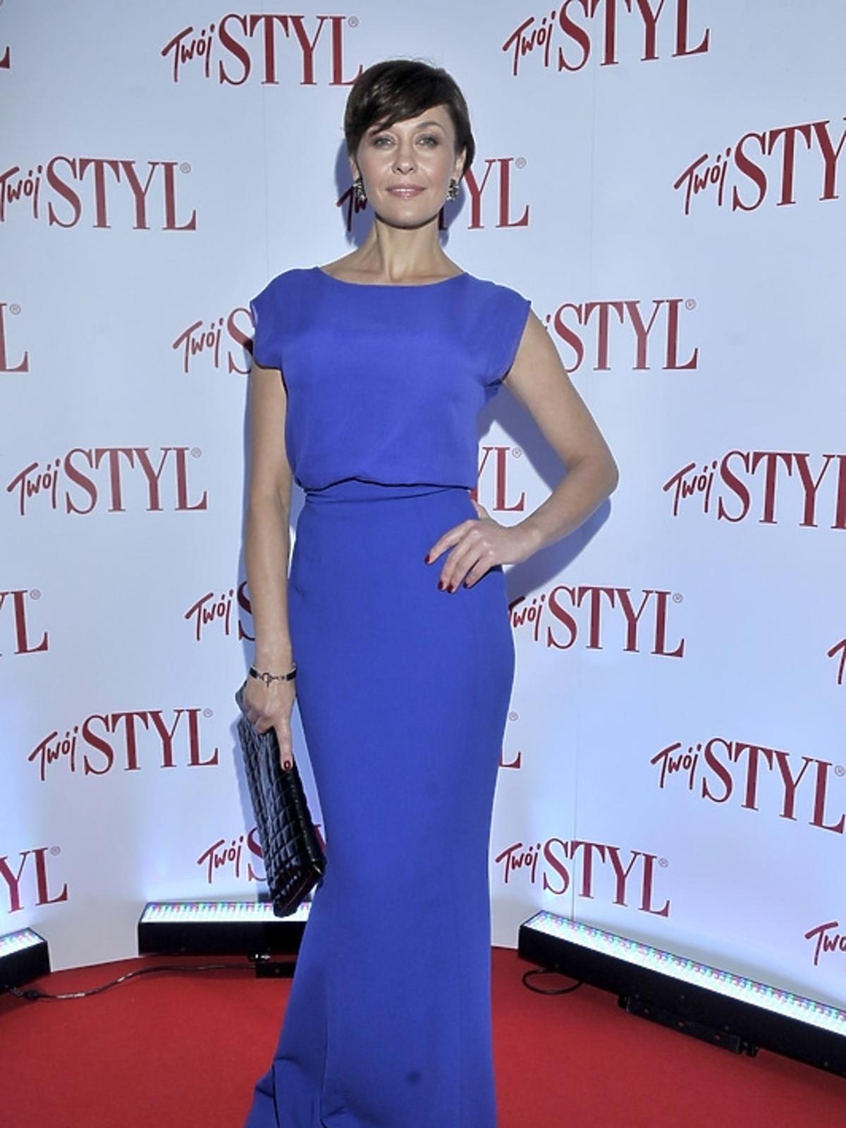 Anna Popek na gali Doskonałość Roku Twojego Stylu 2012